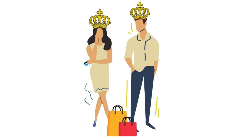 Le client se prélasse tel un roi avant même d'avoir dépenser son argent dans votre entreprise